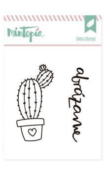 Sellos acrílicos Cactus 1 5 cm x 5 cm