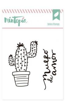 Sellos acrílicos Cactus 2 5 cm x 5 cm