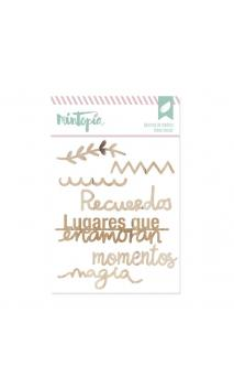 Set Maderias Magia 7 piezas