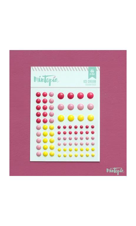 Enamel Dots Ice Cream 84 piezas