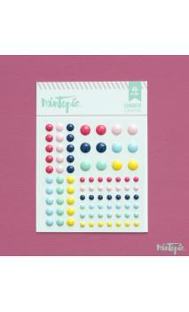 Enamel Dots Summer 84 piezas