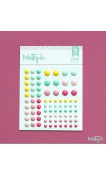 Enamel Dots Spring 84 piezas