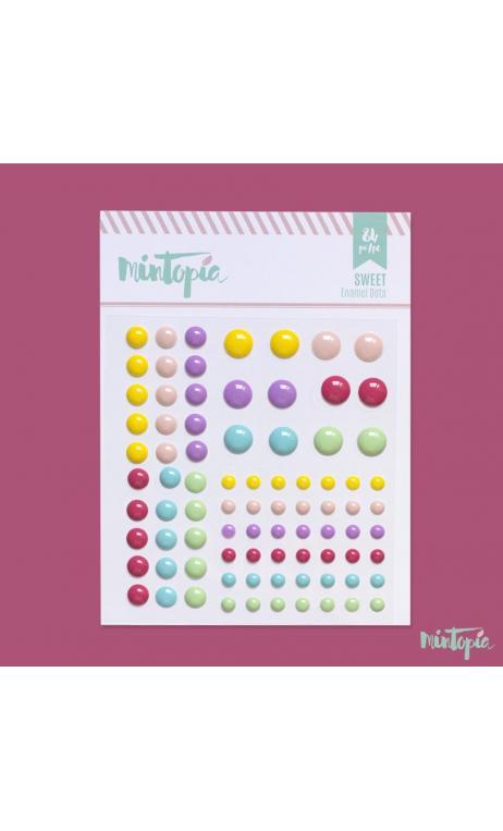 Enamel Dots Sweet 84 piezas
