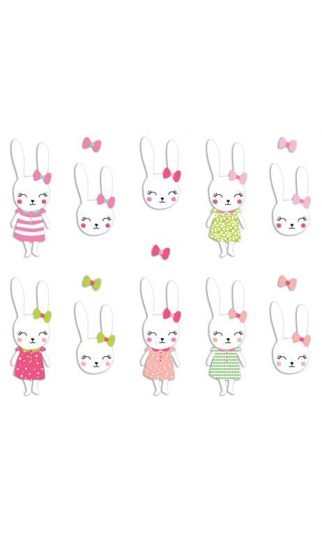 Surtido 20 formas recortadas Conejo Josephine