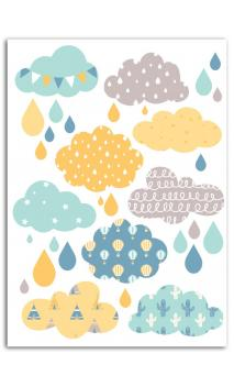Surtido Motivos Termoadhesivo color A5 - Nube Niño
