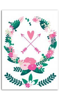 Surtido Motivos Termoadhesivo color A5 - Corona Floral
