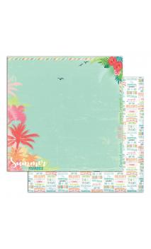 Papel Tropical Paradise 2 R/V 30X30 - 1 F