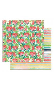 Papel Tropical Paradise 6 R/V 30X30 - 1 F