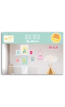 Bloc 16x11 My Little Love- 18 sheets