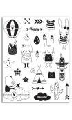 Surtido sellos Crystal® 14X18 Leornard & Josephine
