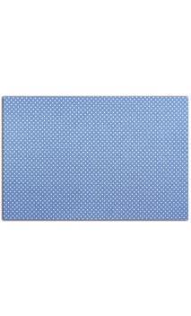 tela adhesiva A4 - azul topos blanco