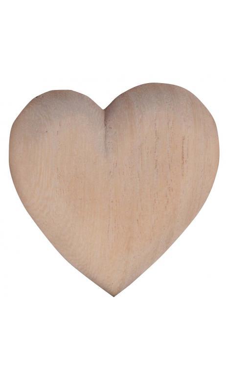 12 corazones en bolsa de polietileno
