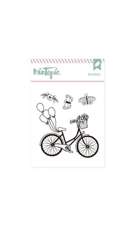 Sellos Bicicleta 7x 9 cm