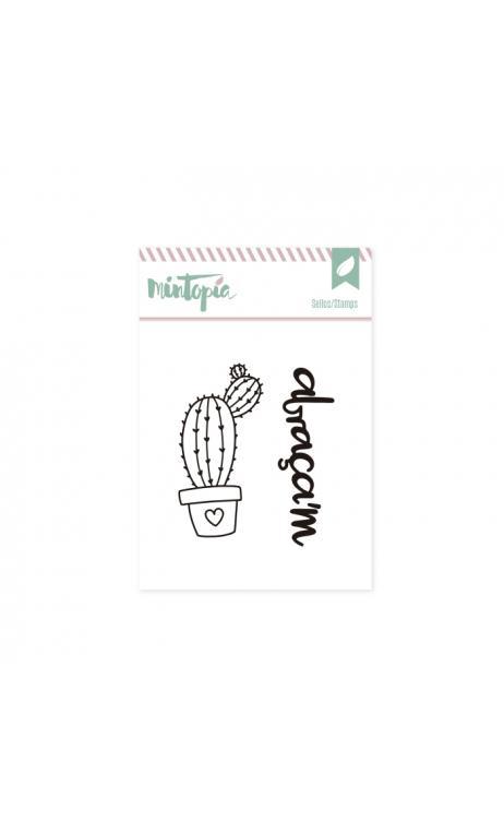Sellos Cactus 1 Catalán 5 x 4,5 cm