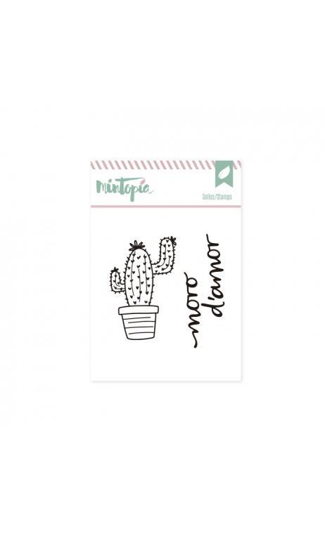 Sellos Cactus 2 Catalán 5 x 4,5 cm