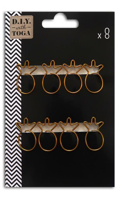 8 clips piñas