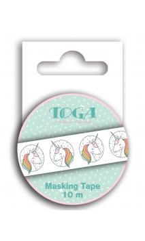 Masking tape licorne - 10m