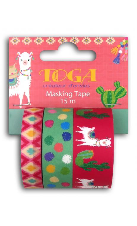 Masking tape x3 - oh lamaa -5m