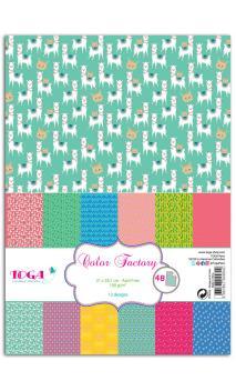 Color factory - A4 - 48 hojas oh lamaa