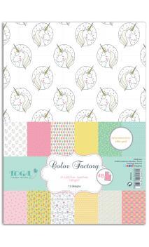 Color factory - A4 - 48 hojas happy days