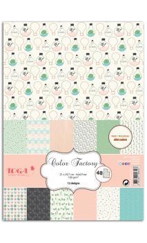 Color factory - A4 - 48 hojas enj. the lit. th.