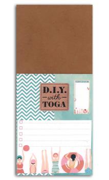 Bloc notas to do list baigneuses 8x18,5cm