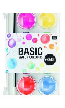 Caja acuarelas perla 12 colores 12 colores 16/94/220mm