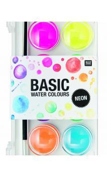 Caja acuarelas neon 12 colores 12 colores 16/94/220mm
