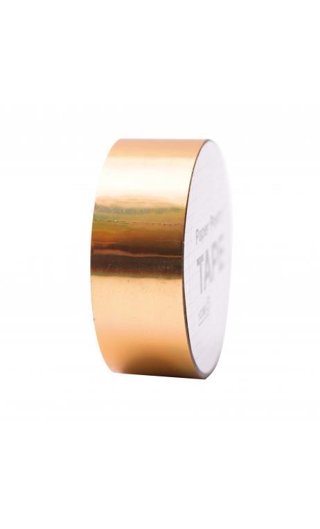Cinta adhesiva holográfica, dorado iridiscente 19 mm/10 m