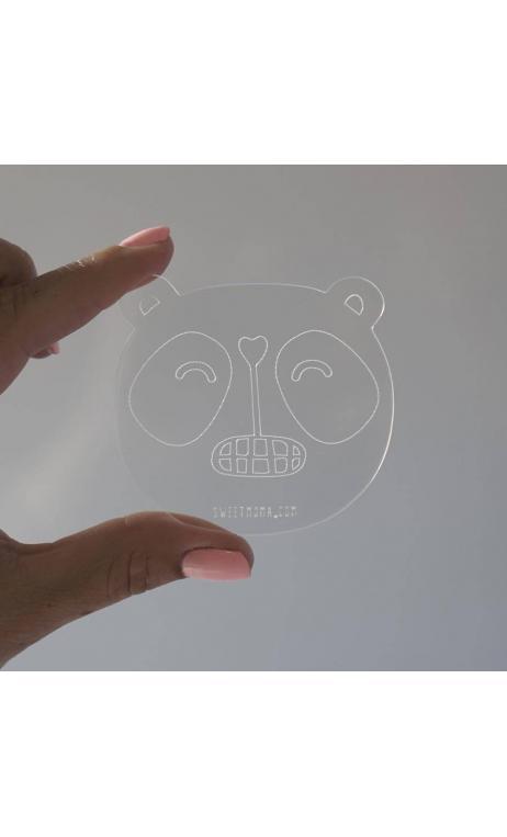Base de metacrilato - Panda