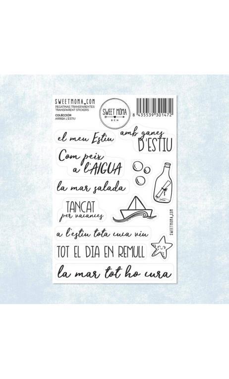 Stickers - Arriba l'estiu (pack 10 ud)