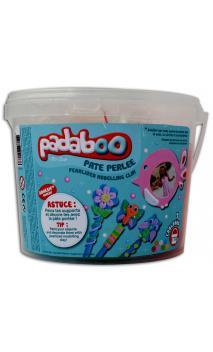Cubo mix 7*110g plastilina perlada