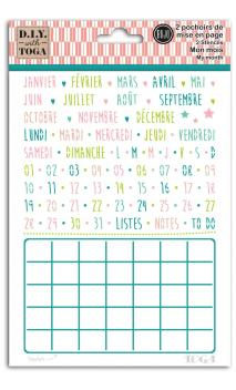 Plantilla Kit monthly
