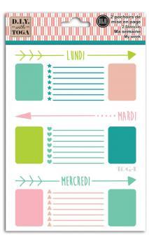 Kit weekly template