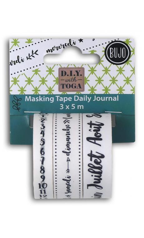 Masking tape x3 bujo 3x5m