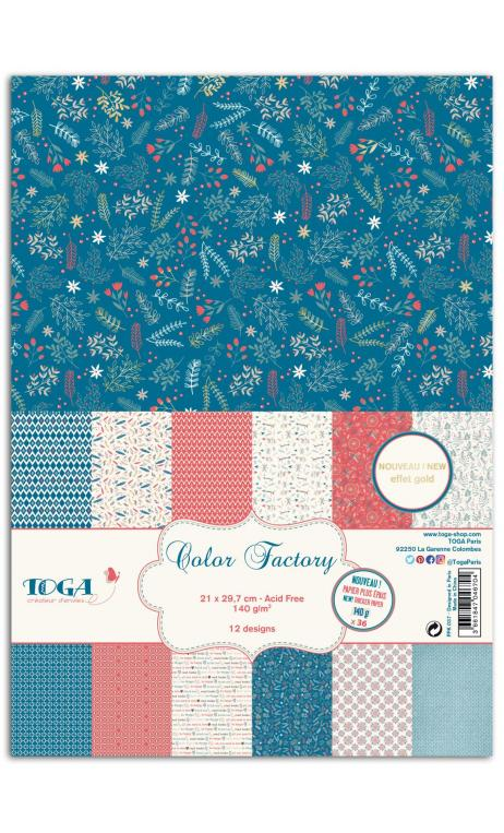 Color factory - a4 - 36 hojas 140g hygge