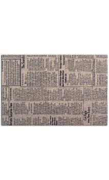 tela adhesiva A4 - journal marron