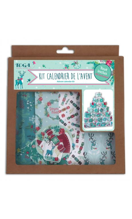 Kit calendario de adviento renos