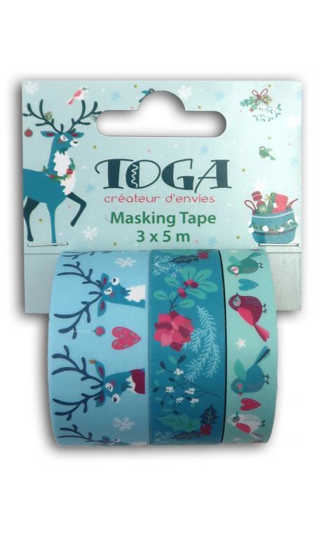 Masking tape x3 - renos -5m