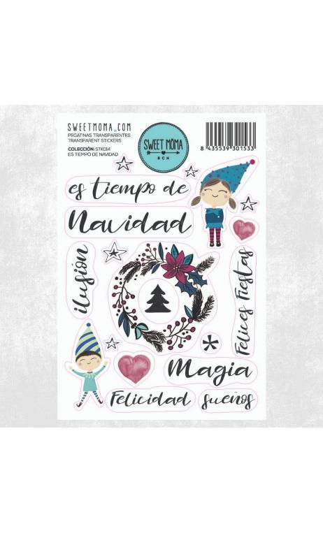 Stickers - Es tiempo de Navidad