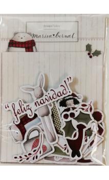 Die Cuts Feliz Navidad