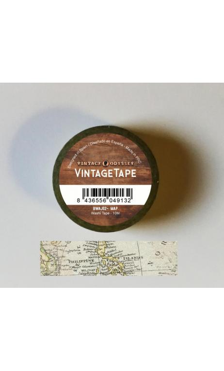 "Washi Tape ""Traveller Map"""