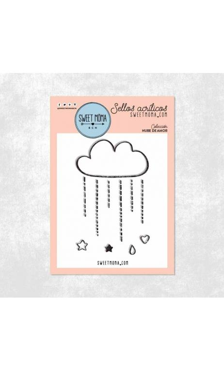 Sellos - Nube de amor (5x7cm)