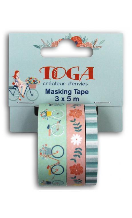 Masking tape x3 Oh La La 5m