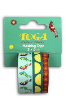 Masking tape x3 Hacienda 5m