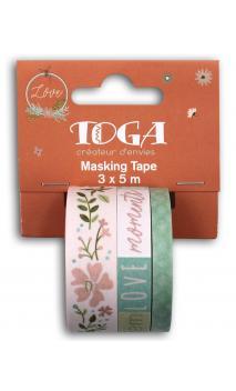 Masking tape x3 Maison de campagne 5m