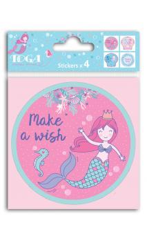 Cover stickers 10x10 Sous la mer