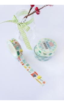 "Washi Tape ""Bakery"" Quim Diaz 10m"