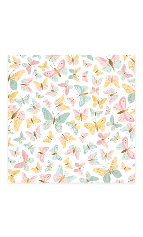 Vellum Mariposas foil Bonita