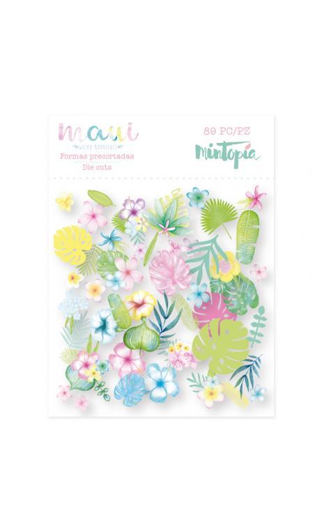 Die cuts flores Maui